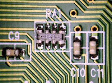 Soldering is done to install components on a PCB and desoldering to remove them from the board.