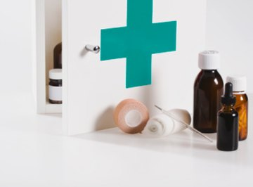 Isopropanol is a handy chemical to keep in a first-aid kit.