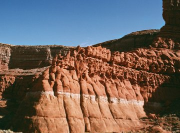 The Grand Canyon is a classic example of sedimentary rock layers formed since the beginning of time.