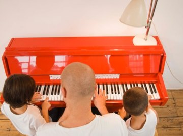 Although they look simple on the outside, inside pianos are extremely complicated.