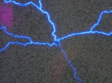 Electrostatic discharge is a common occurrence.