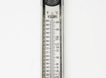 Celsius and Fahrenheit are familiar temperature scales.