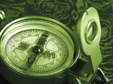 Some compasses are declined for particular regions.