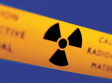 Radioactive decay may be measured in curies.