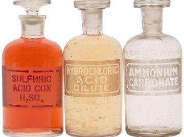 Acidic substances have distinct properties.