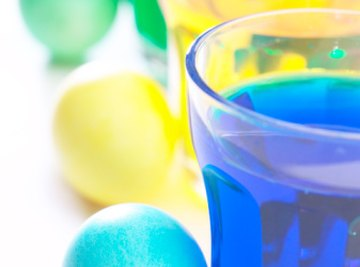 With food coloring and an egg, you can show how osmosis works.