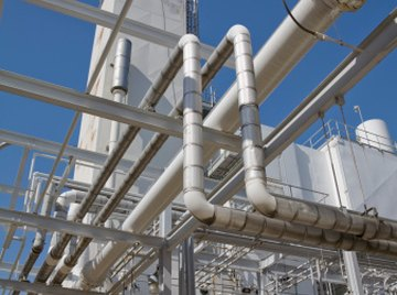 Sewage treatment plants use physical, chemical and biological processes to remove contaminants.