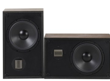 The sound pressure level from a pair of speakers is typically measured in decibels.