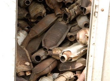 Make your own rust powder so you don't have to dig through a pile of rusty mufflers.