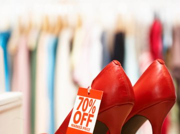 Stores often describe discounts in terms of percentages.