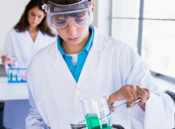 Students can learn about reactivity in the lab.