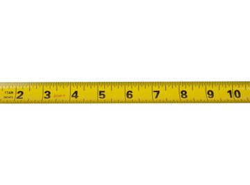 Most of European measurements are given in the metric system.