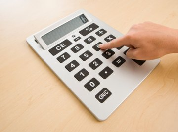 A calculator can make finding sums and differences easy.