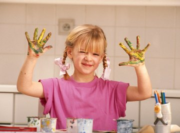 Color-Mixing Paint Activities for Preschoolers