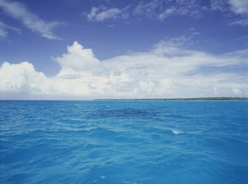 Oceans and other bodies of water produce uplifting negative ions.