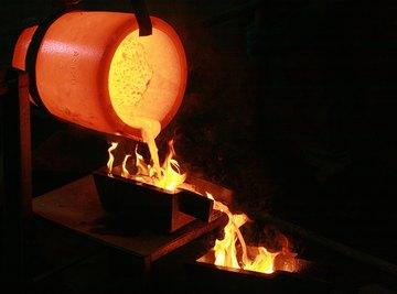 A Poor Man's Method of Smelting Gold