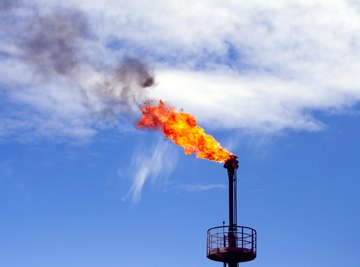 The oxidation state of carbon changes from -4 to +4 when you burn methane.