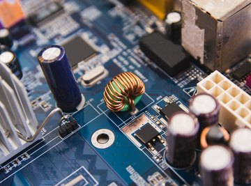 How to Calculate Voltages in Transistors