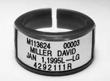 A radiation dosimeter bracelet, courtesy princeton.edu