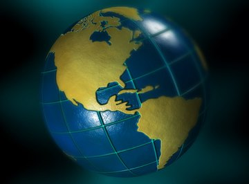 The geographic grid uses lines and coordinates to divide the Earth into equal parts.