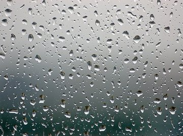 Rain water can effect the Earth in both positive and negative ways.