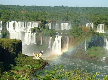 Waterfalls in the Amazon