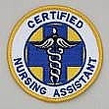 Certified Nursing Assistant CNA badge