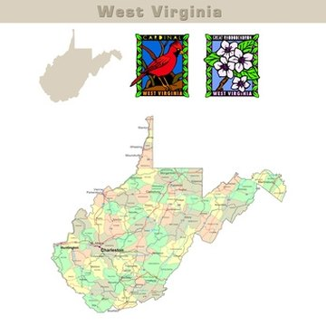 In West Virginia, there a court house in each of the 55 counties where felony cases are heard.