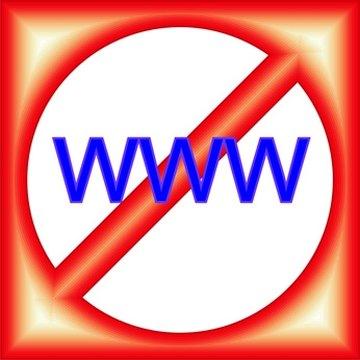 Internet filtering in schools can block unintended websites.