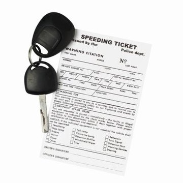 the Status, a Speeding Ticket