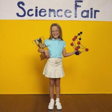 Science fairs can include projects on the physical sciences as well as those on psychology.