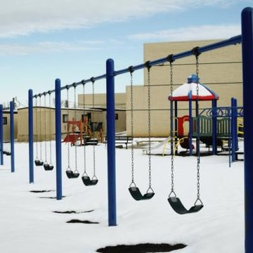 Costs for elementary playground equipment depends on the chosen elements.