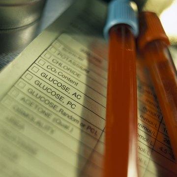Blood glucose samples