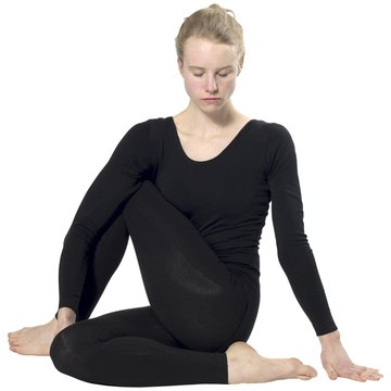 what are some yoga positions for constipation  woman