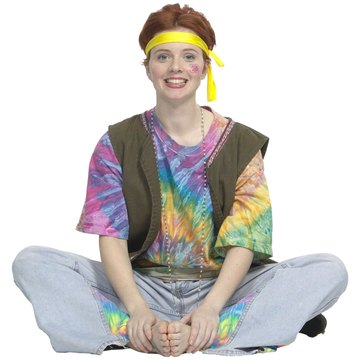 Create your own imaginative shirt with a tie-dye technique.