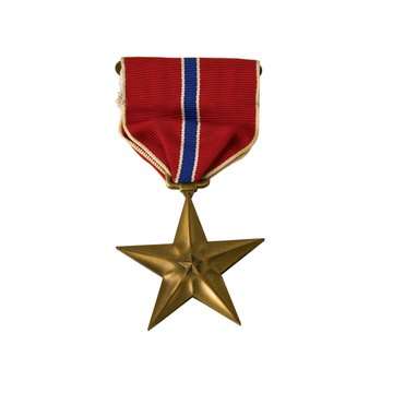 Bronze Star medals are awarded for meritorious or heroic action in combat.