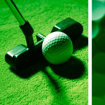 Unlike woods and irons, a putter's shaft may be attached to the club head at any point.