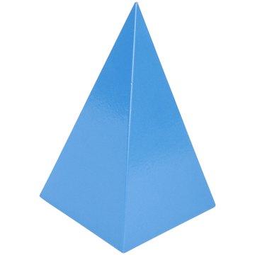 A pentagonal pyramid has a pentagon as its base.