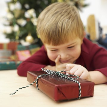 Crafts can teach your child that there's more to Christmas than gifts.