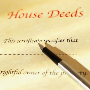 How to Transfer a Deed to a House if the Owner Dies Without