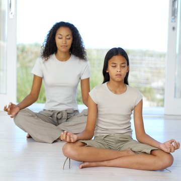 Home activities including yoga are beneficial for autistic teenage girls.