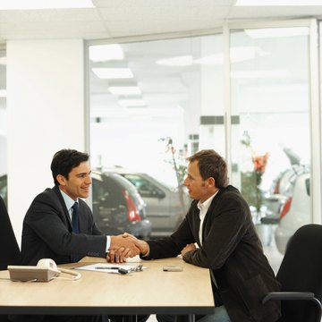 Finance and insurance managers must be flexibile when negotiating deals.