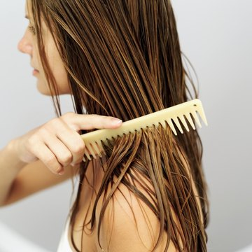 Detangling Hair Often And Carefully Is One Key To Keeping Extensions From Falling Out