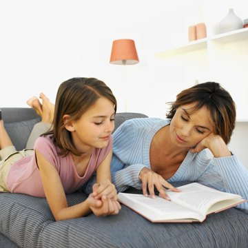 Reading aloud with children helps increase their fluency.