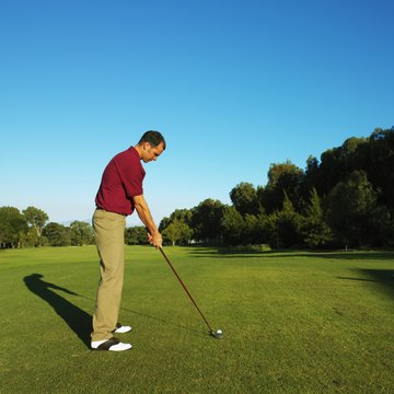 Proceed to the first tee box after the starter signals you to do so.