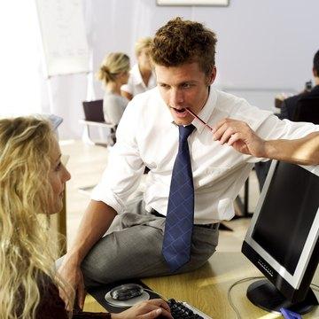 Don't make flirting at work your full-time job.