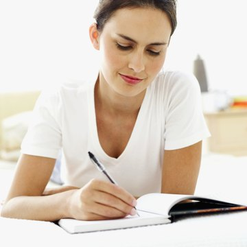 Journal writing is a great way to examine your thinking process.