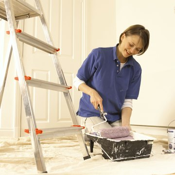 You may not be able to paint or modify your apartment.