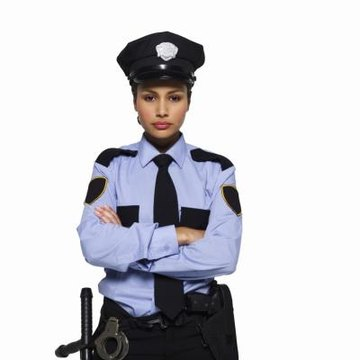 Portrait of a policewoman.
