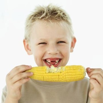 The human body can not break down corn and lettuce.